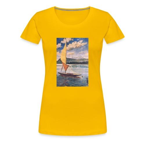 Genfer See 1951 - Frauen Premium T-Shirt