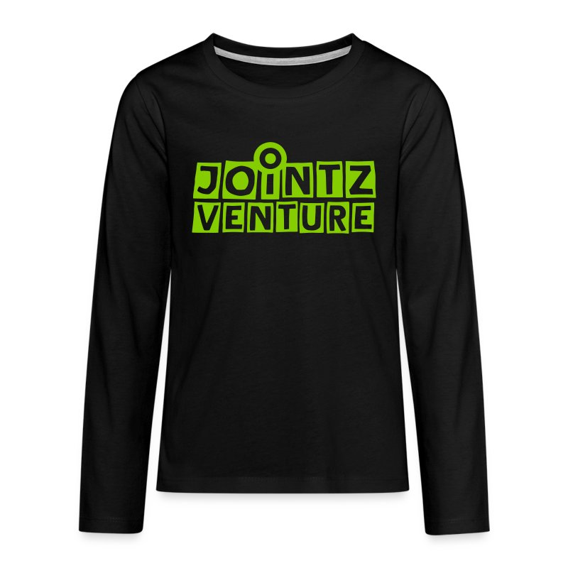 jointz_venture 1side - Teenager Premium Langarmshirt