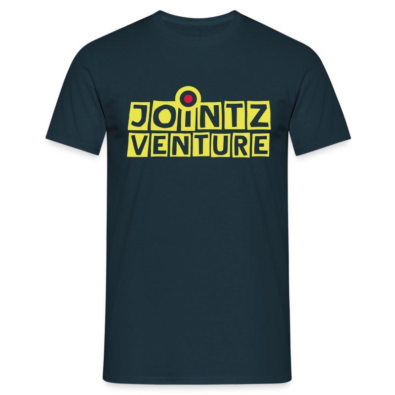 Jointz Venture blue/yellow - Männer T-Shirt