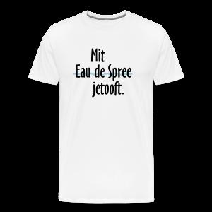 Mit Eau de Spree jetooft  T-Shirt (Herren) - Männer Premium T-Shirt