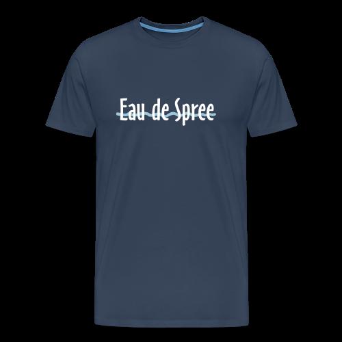 Eau de Spree T-Shirt (Herren/Navy) - Männer Premium T-Shirt