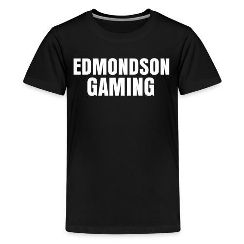 EdmondsonGaming Black T-Shirt (Teenage) - Teenage Premium T-Shirt