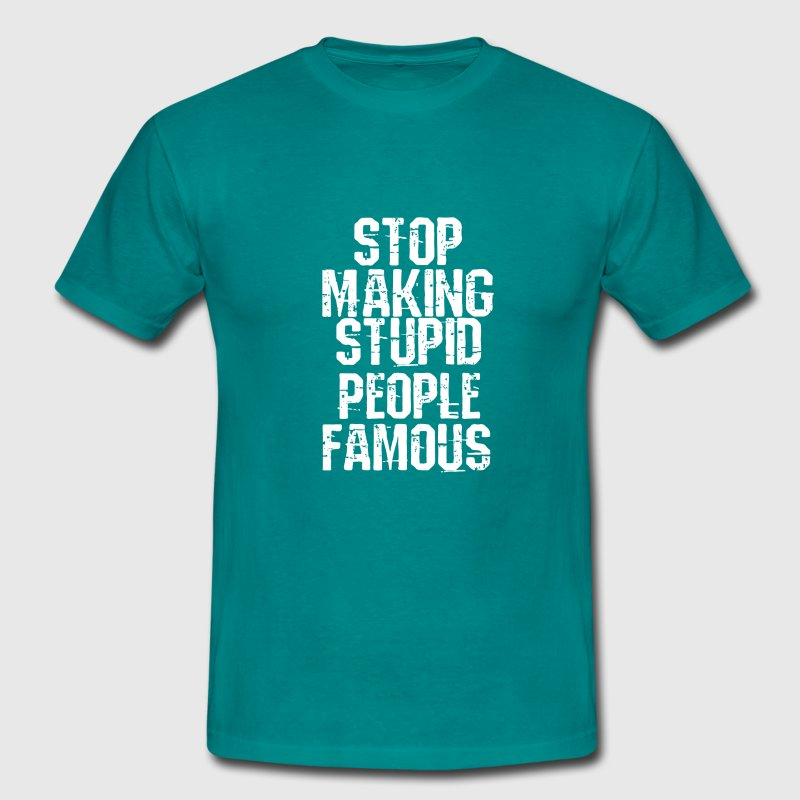stupid people T-Shirts - Men's T-Shirt