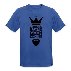 Zonder Baard geen koning - mannen T-shirt ademend