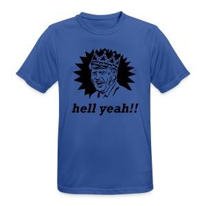 hell yeah voor de koning! - mannen T-shirt ademend