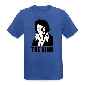 The King Willem Alexander/Elvis Kon - mannen T-shirt ademend