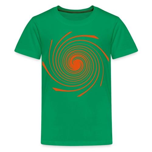 Teenies T-Shirt - Spirale - Teenager Premium T-Shirt
