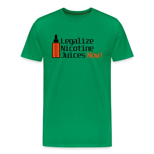 Legalize nicotine juices - T-shirt Premium Homme