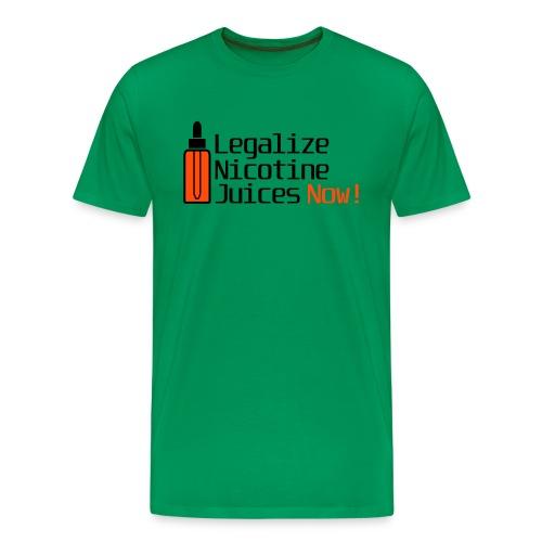 Legalize nicotine juices - T-shirt Premium Homme