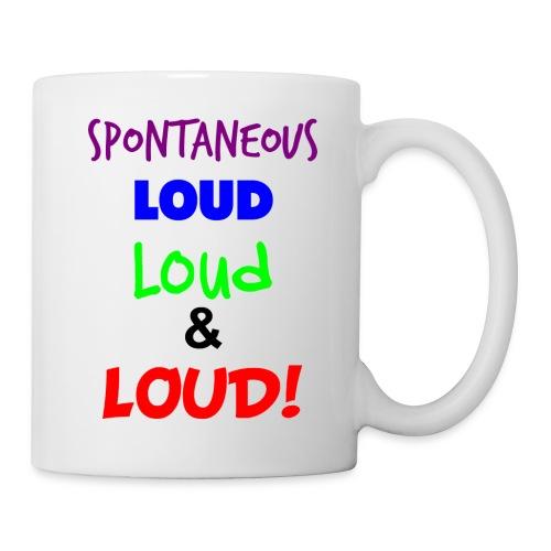 Spontaneous Loud Mug - Mug