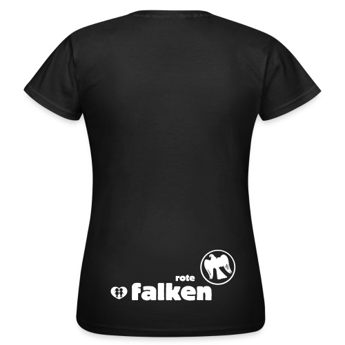 T-Shirt Rote Falken (female) - Frauen T-Shirt