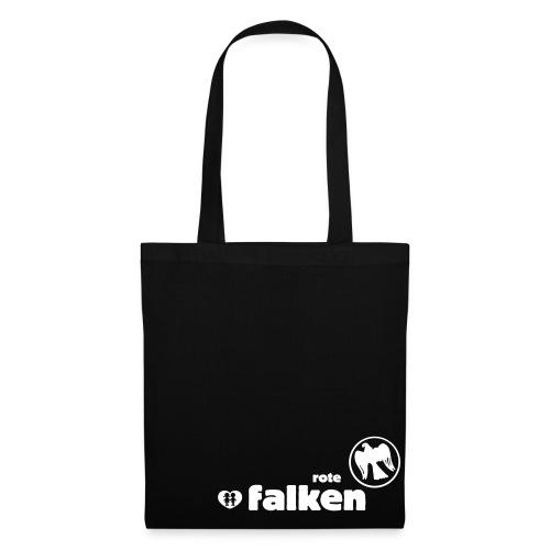 Stofftasche Rote Falken  - Stoffbeutel