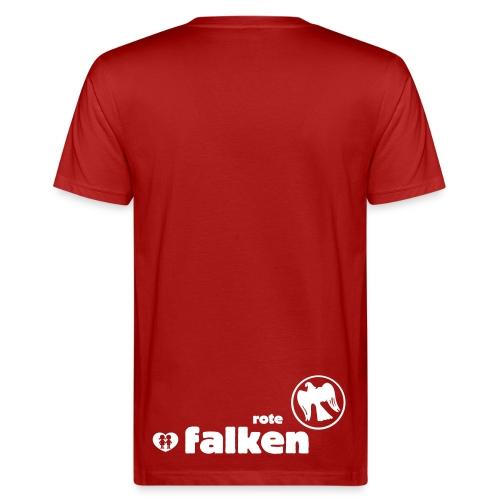 Bio T-Shirt Rote Falken (male) - Männer Bio-T-Shirt