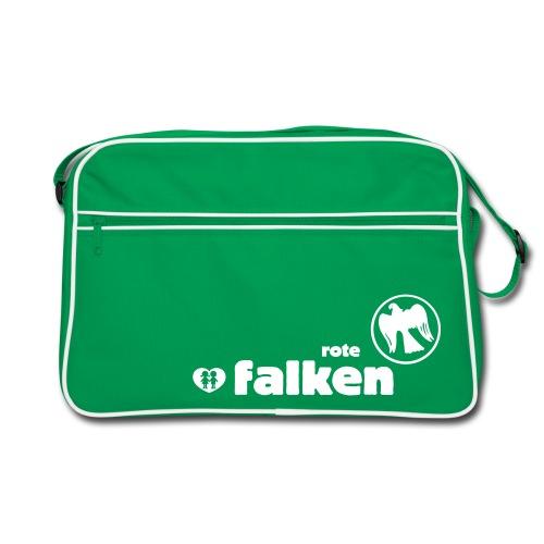 Retro Tashe Rote Falken  - Retro Tasche