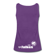 Tops ~ Frauen Premium Tank Top ~ Top Rote Falken (female)