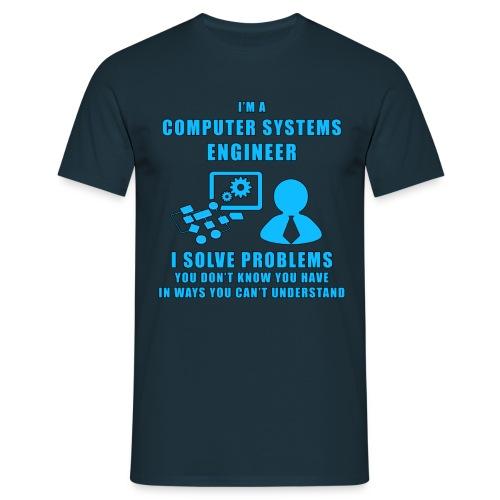 Computer Systems Engineer - Maglietta da uomo