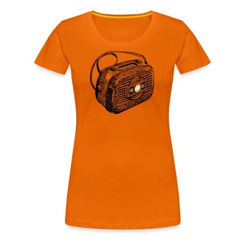 FRS Shirt Campingradio 01 (Bio-Shirt, Frauen) - Frauen Premium T-Shirt