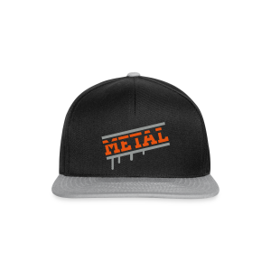 Metal Hard Rock - Snapback Cap