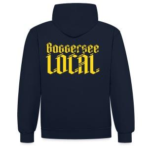 Baggersee Local Hoodie (unisex) - Kontrast-Hoodie