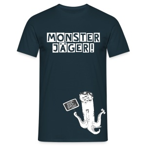 T-Shirt Monsterjäger Kauf halt was (male) - Männer T-Shirt