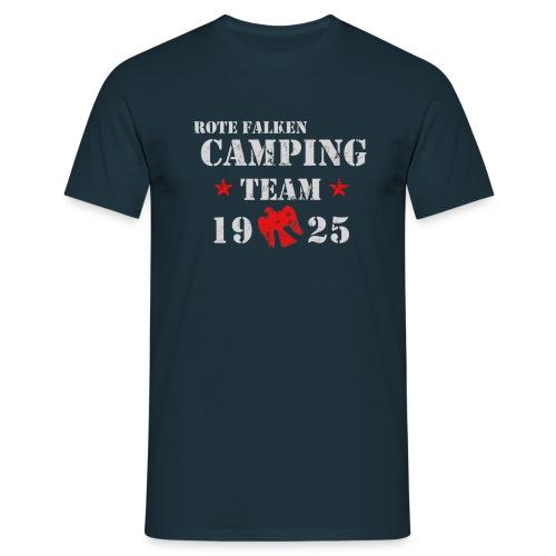 T-Shirt Camping Team (male) - Männer T-Shirt