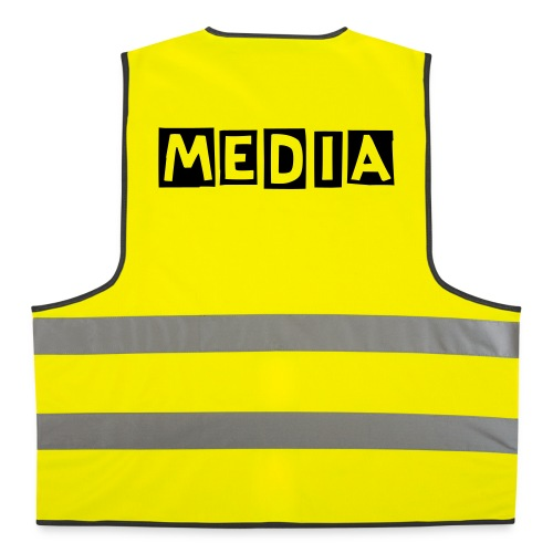 341 - MEDIA WESTE - Warnweste