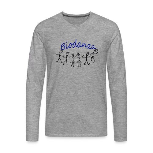 Biodanza Kreis - Männer Premium Langarmshirt