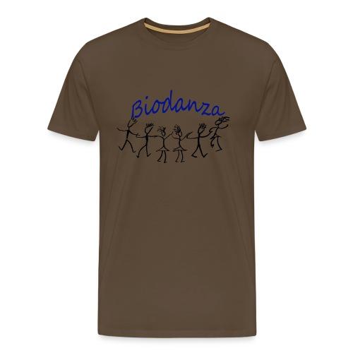 Biodanza Kreis - Männer Premium T-Shirt