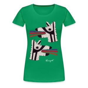 Dog Tongues, Women's shirt - Women's Premium T-Shirt