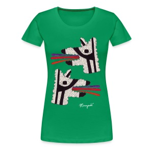 Dog Tongues, Women's shirt - Women's Premium T-Shirt