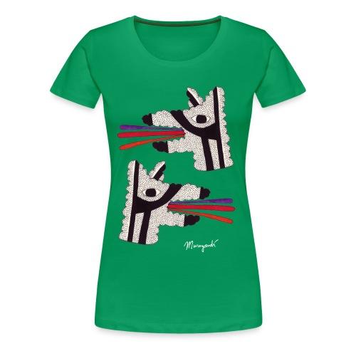 Dog Tongues - Women's shirt - Women's Premium T-Shirt