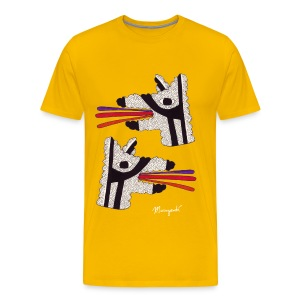 Dog Tongues, Men's shirt - Men's Premium T-Shirt