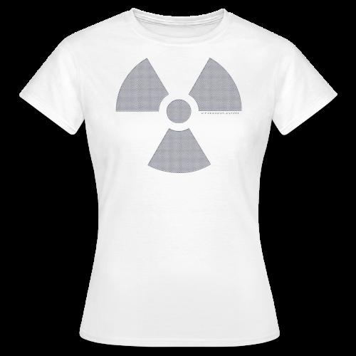 RADIOAKTIV - Effekt: gelochtes Aluminium - Frauen T-Shirt