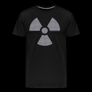 RADIOAKTIV - Effekt: gelochtes Aluminium - Männer Premium T-Shirt