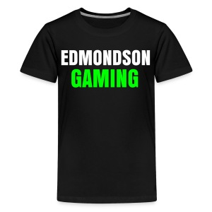EdmondsonGaming Green T-Shirt (Mens) - Teenage Premium T-Shirt