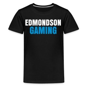 EdmondsonGaming Blue T-Shirt (Teenage) - Teenage Premium T-Shirt