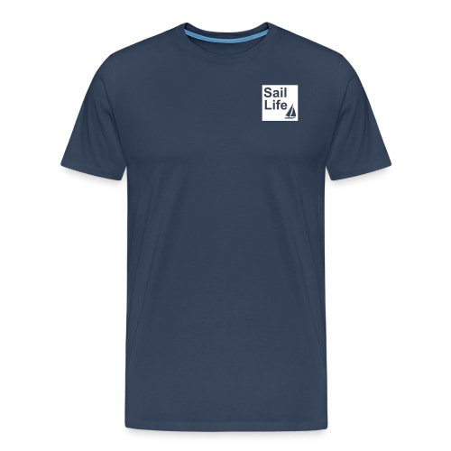 Sail Life T-shirt (Navy Blue) - Men's Premium T-Shirt