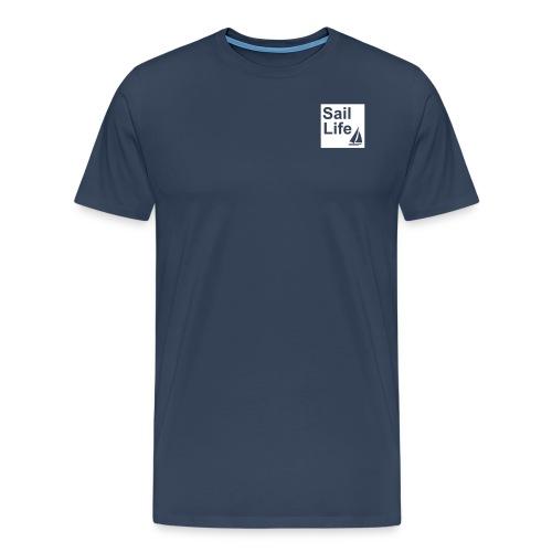 Sail Life T-shirt (Navy Blue) - Men's Premium T-Shirt