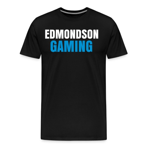 EdmondsonGaming Blue T-Shirt (Mens) - Men's Premium T-Shirt