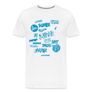 T-Shirt Super Super Super - Männer Premium T-Shirt