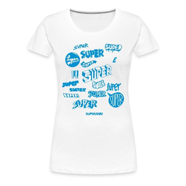 """Girl-Shirt """"Super Super Super"""""""