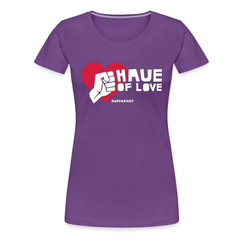 Girl-Shirt Haue - Frauen Premium T-Shirt