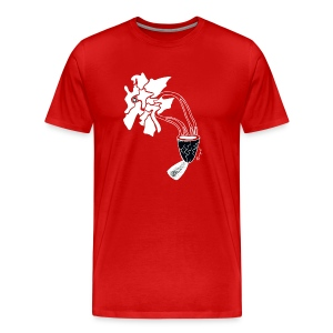 Birth of a Dragon white, Men's shirt - Men's Premium T-Shirt