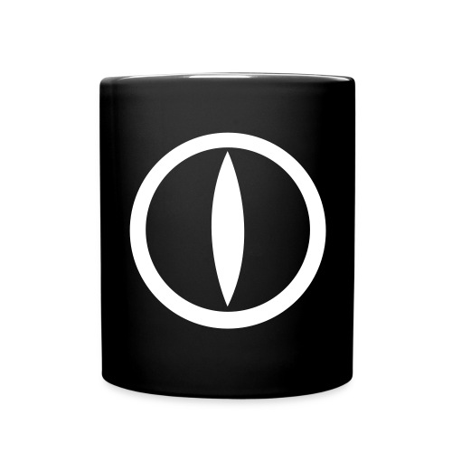 Jk one logo front catseye mug  - Full Colour Mug