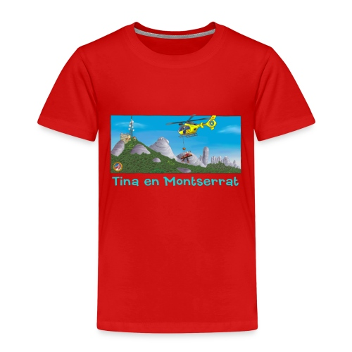 TINA HELICÓPTERO DE RESCATE (Cast) - Camiseta premium niño