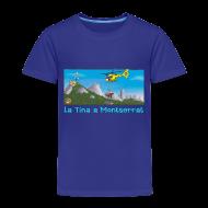 Camisetas ~ Camiseta premium niño ~ LA TINA HELICÒPTER RESCAT GRAE (cat)