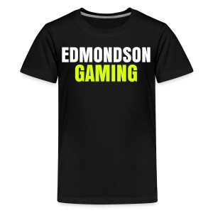 EdmondsonGaming Yellow T-Shirt (Teenage) - Teenage Premium T-Shirt