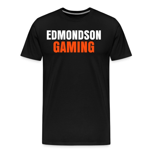 EdmondsonGaming Orange T-Shirt (Mens) - Men's Premium T-Shirt