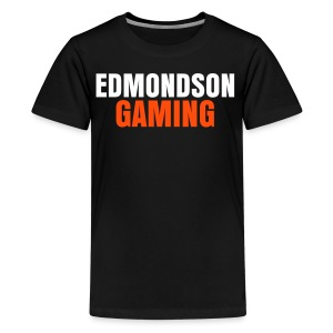 EdmondsonGaming Orange T-Shirt (Teenage) - Teenage Premium T-Shirt