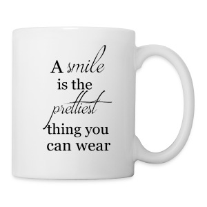 a Smile is a pretty thing - Tasse